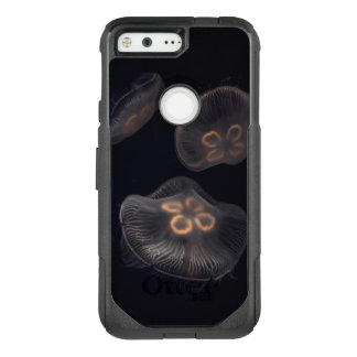 Moon Jellyfish Swimming OtterBox Commuter Google Pixel Case