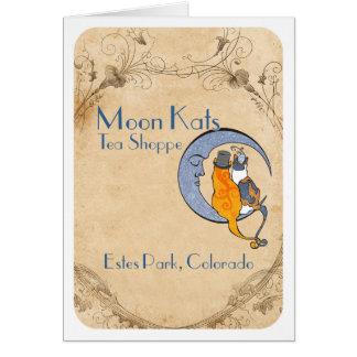Moon Kats Estes Park Greeting Card