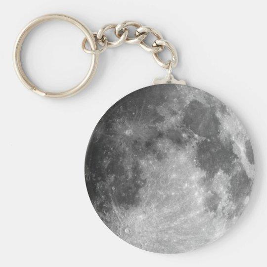 Moon Key Ring