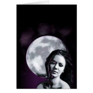 moon lady card