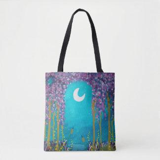 Moon Lagoon Tote Bag