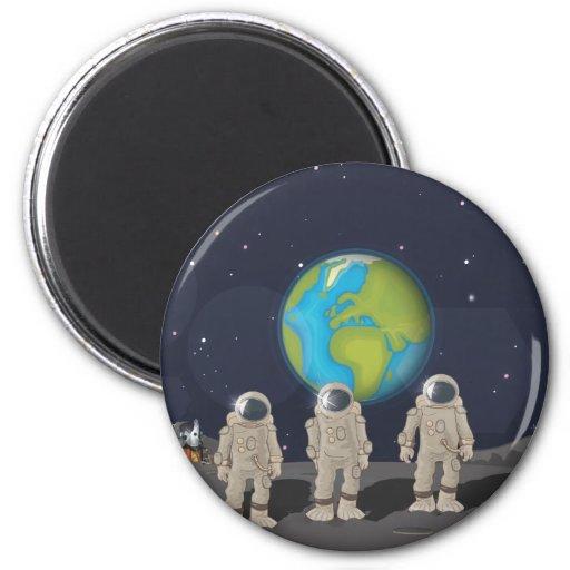Moon Landings Magnet