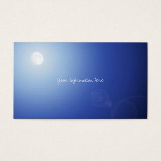 Moon Light Business Cards