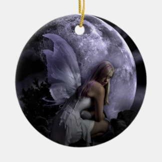 Moon Light Fairy Christmas Ornament