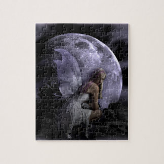 Moon Light Fairy Jigsaw Puzzle