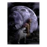 Moon Light Fairy Postcard