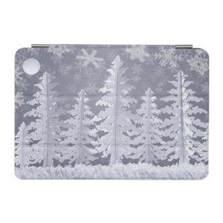 Moon lit Winter landscape iPad Mini Cover