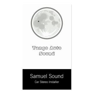 Moon Luna Tango Pack Of Standard Business Cards