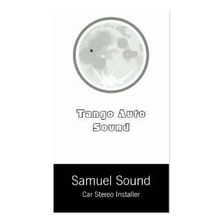 Moon Luna Tango Pack Of Standard Business Cards