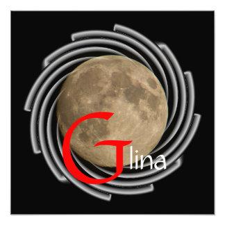 Moon, Lune, Luna, Glina, Moon poster Photograph