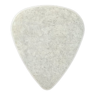 Moon Map Acetal Guitar Pick