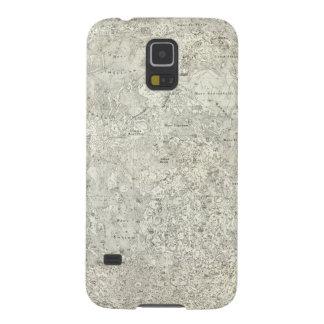 Moon Map Galaxy S5 Case