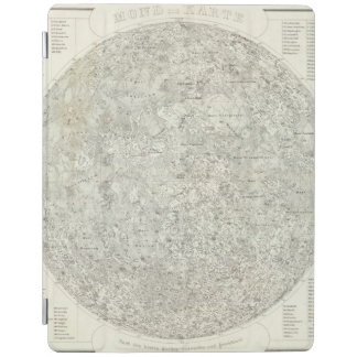 Moon Map iPad Cover