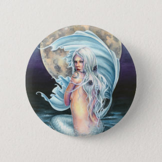 Moon Mermaid Button