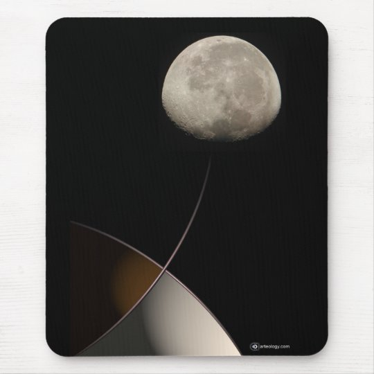 MOON MIND MOUSE PAD