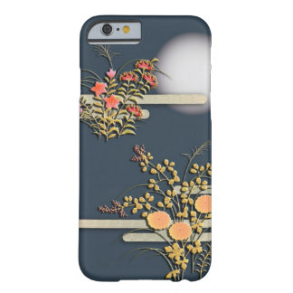 Moon, mist and flowers barely there iPhone 6 case
