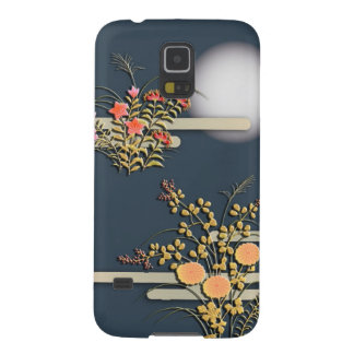 Moon, mist and flowers galaxy s5 cover