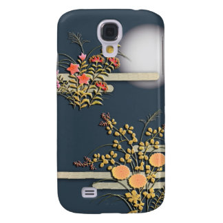 Moon, mist and flowers galaxy s4 case