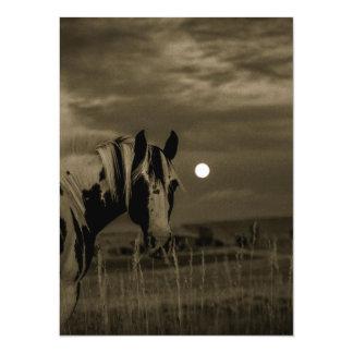 moon night custom personalize diy Anniversaries 14 Cm X 19 Cm Invitation Card