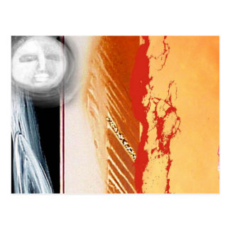 moon of the gold streak postcard