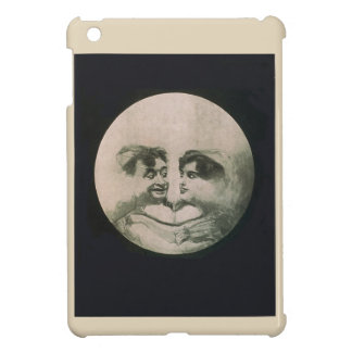 Moon Optical Illusion iPad Mini Cases