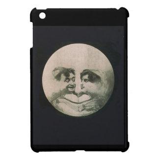 Moon Optical Illusion iPad Mini Covers