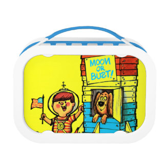 Moon or Bust! Lunch Box