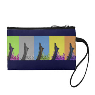 Moon Over Burnt Tree Rising_multi-hue sequence Coin Purses