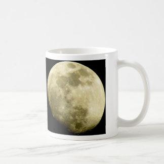 Moon over Joshua Tree Basic White Mug