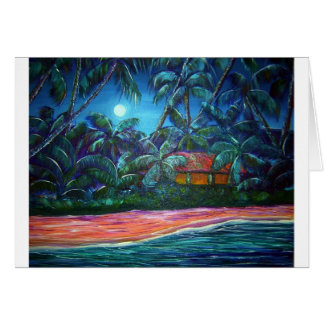 Moon over Mala Greeting Card