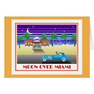 Moon Over Miami Orange Card