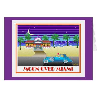 Moon Over Miami Purple Card