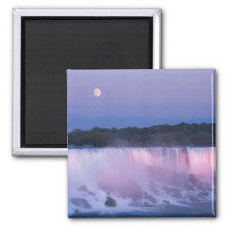 Moon over Niagara Falls Magnet