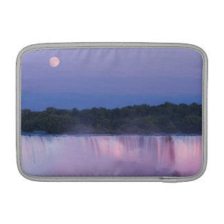 Moon over Niagara Falls Sleeve For MacBook Air