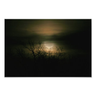Moon Over Prince George Photo Art
