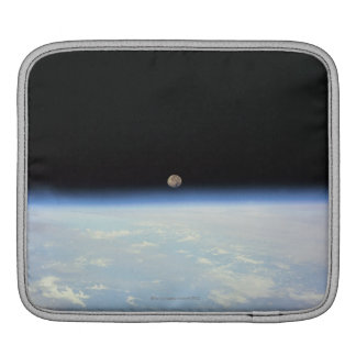 Moon Over the Earth iPad Sleeve
