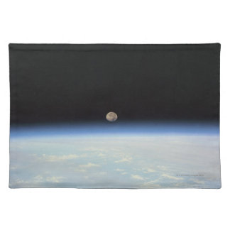 Moon Over the Earth Placemat