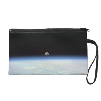 Moon Over the Earth Wristlet