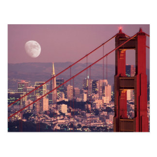 Moon Over the Gate Postcard