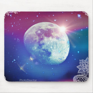 Moon Pad Mouse Mat