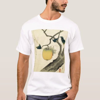 Moon, Persimmon and Grasshopper, 1807 T-Shirt