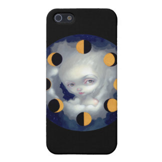 """""""Moon Phases"""" iPhone 4 Case"""