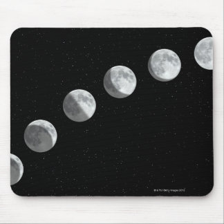 Moon phases mouse mat