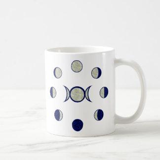 Moon Phases Coffee Mugs