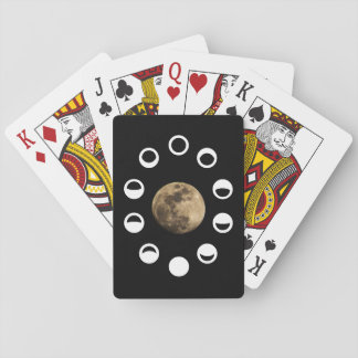 Moon Phases Playing Cards