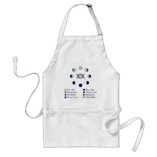 Moon Phases Standard Apron