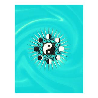 Moon Phases, Sun & Yin Yang - Polarity & Duality 21.5 Cm X 28 Cm Flyer
