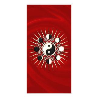 Moon Phases, Sun & Yin Yang - Polarity & Duality Photo Cards