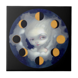 """Moon Phases"" Tile"