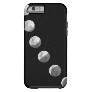 Moon phases tough iPhone 6 case
